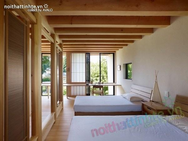 Thiết kế nhà cấp 4 đẹp Yatsugatake - Nhật Bản 10