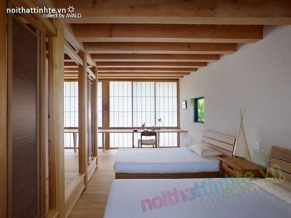 Thiết kế nhà cấp 4 đẹp Yatsugatake - Nhật Bản 11
