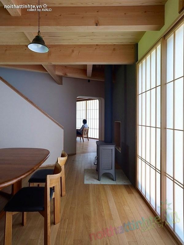 Thiết kế nhà cấp 4 đẹp Yatsugatake - Nhật Bản 03