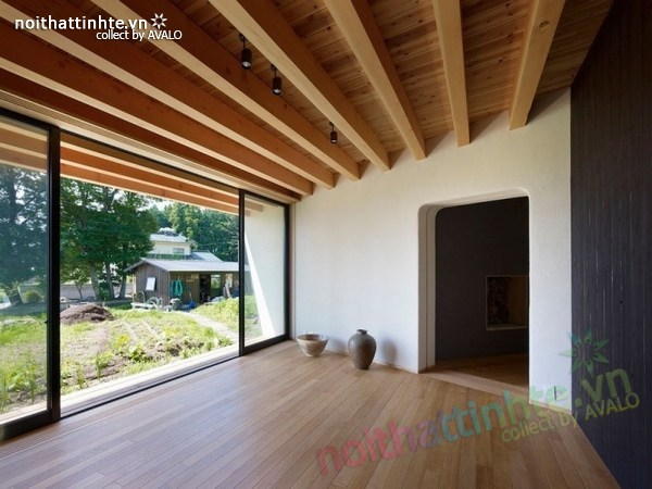 Thiết kế nhà cấp 4 đẹp Yatsugatake - Nhật Bản 04