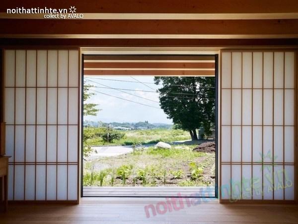 Thiết kế nhà cấp 4 đẹp Yatsugatake - Nhật Bản 06