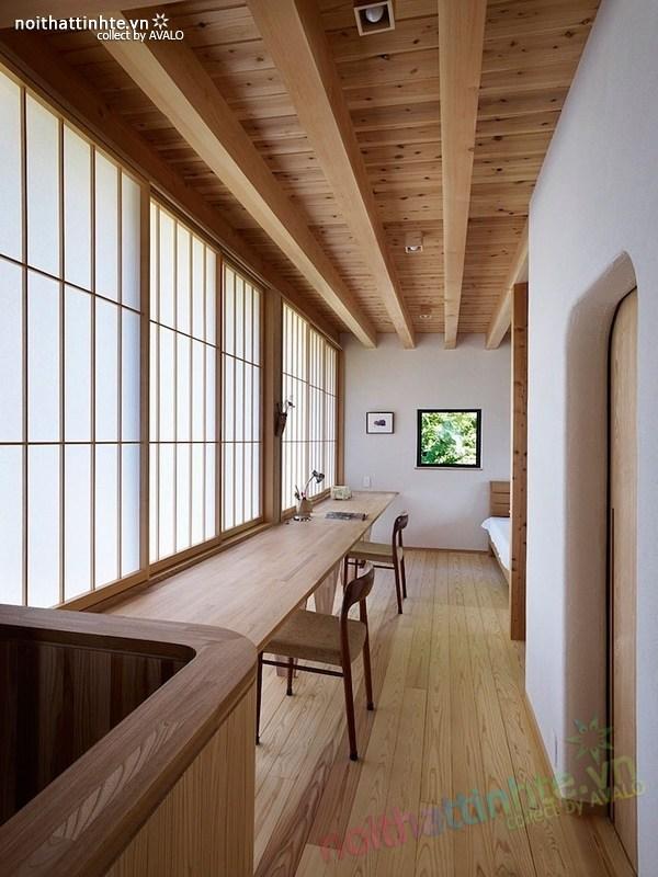 Thiết kế nhà cấp 4 đẹp Yatsugatake - Nhật Bản 08