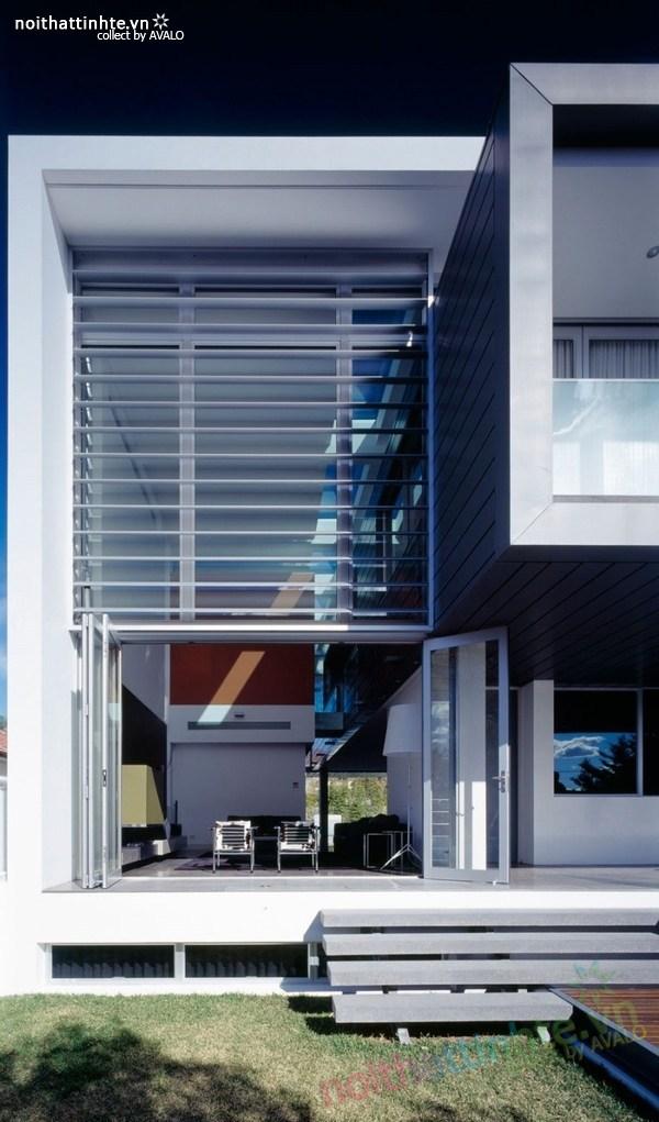 Thiết kế nhà đẹp 2 tầng nội thất sang trọng ở Sydney 01