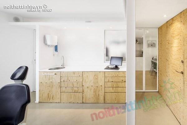 Thiết kế nội thất phòng khám nha khoa ở Torrelles 05