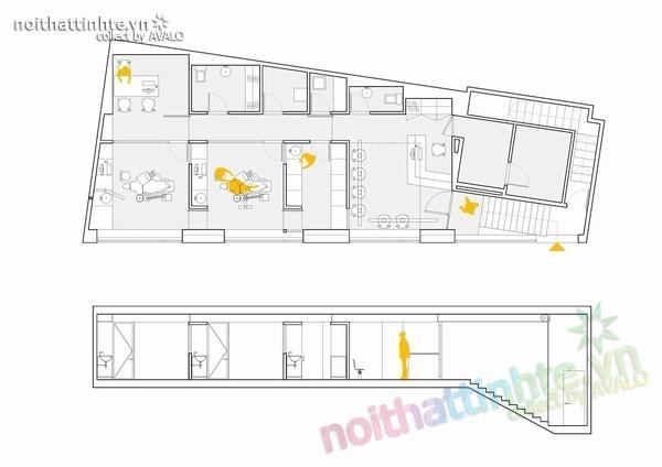 Thiết kế nội thất phòng khám nha khoa ở Torrelles 08