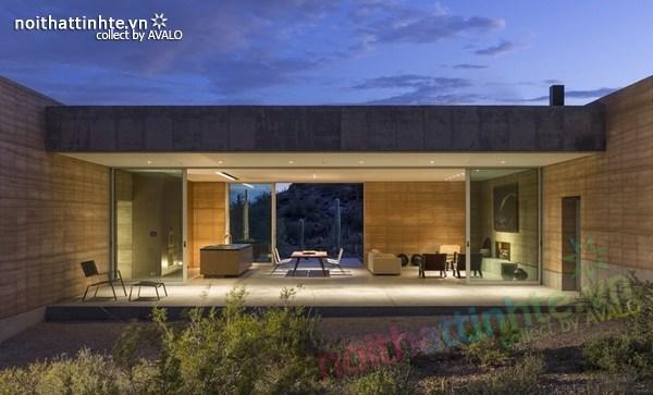 Nhà cấp 4 đẹp Tucson Mountain Retreat 07
