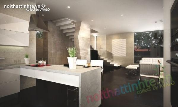 Mẫu nhà đẹp 2 tầng hình thức độc đáo và thiết kế hiện đại 05
