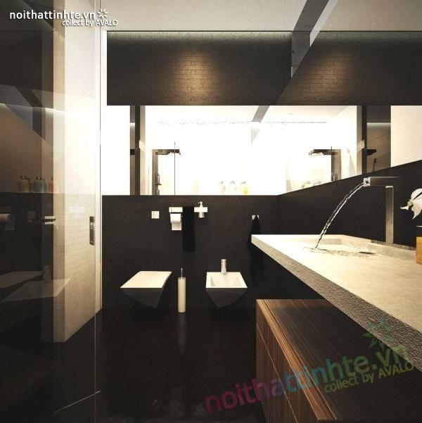 Mẫu nhà đẹp 2 tầng hình thức độc đáo và thiết kế hiện đại 06