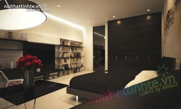 Mẫu nhà đẹp 2 tầng hình thức độc đáo và thiết kế hiện đại 07