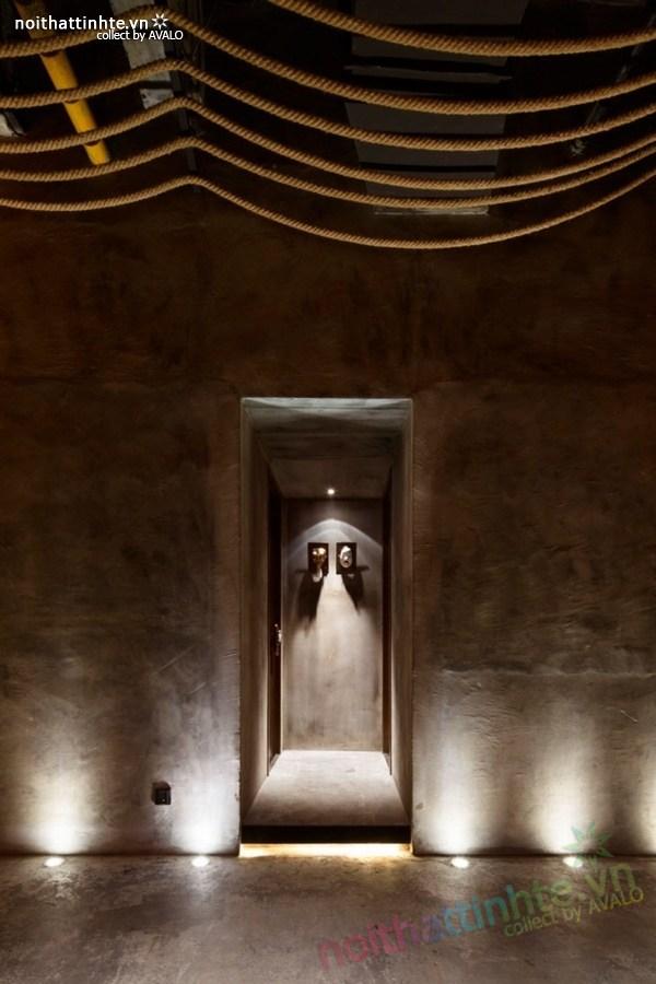 Thiết kế nội thất nhà hàng Kemuri - Thượng Hải 01