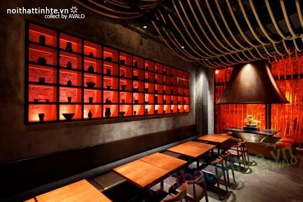 Thiết kế nội thất nhà hàng Kemuri - Thượng Hải 09
