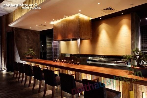Thiết kế nội thất nhà hàng Kemuri - Thượng Hải 05