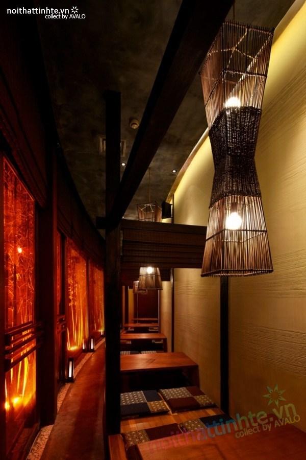 Thiết kế nội thất nhà hàng Kemuri - Thượng Hải 06