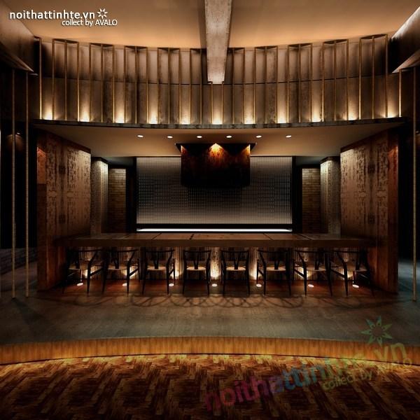 Thiết kế nội thất nhà hàng Kemuri - Thượng Hải 07