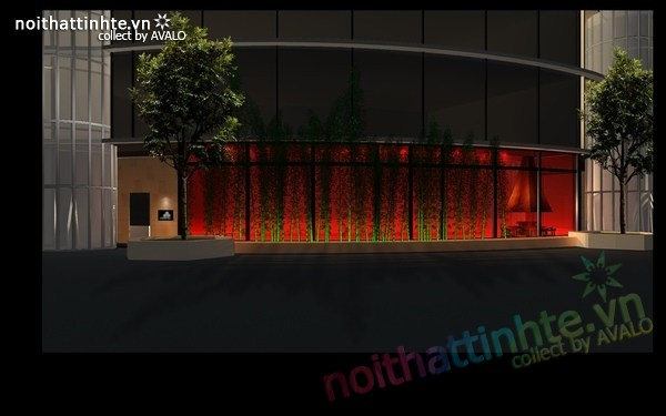 Thiết kế nội thất nhà hàng Kemuri - Thượng Hải 08