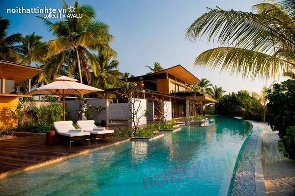 Biệt thự đẹp nghỉ dưỡng trên đảo Coco - Maldives 02