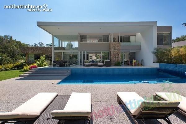 Thiết kế nhà đẹp 2 tầng Casa del Viento 01