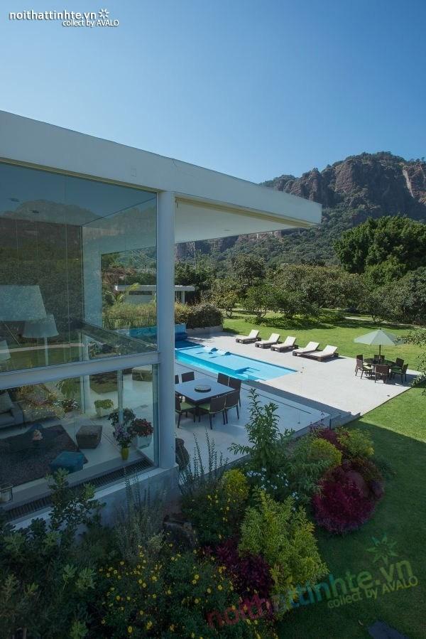 Thiết kế nhà đẹp 2 tầng Casa del Viento 02