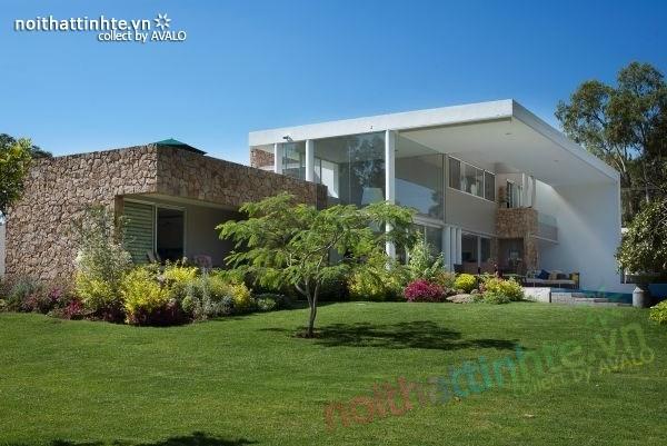 Thiết kế nhà đẹp 2 tầng Casa del Viento 05