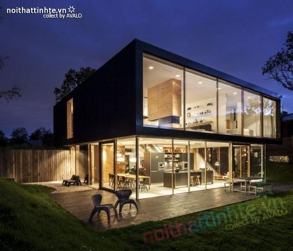 Mẫu nhà đẹp 2 tầng V-Villa đầy hiện đại 02