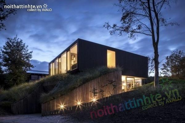 Mẫu nhà đẹp 2 tầng V-Villa đầy hiện đại 03