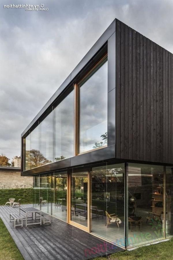 Mẫu nhà đẹp 2 tầng V-Villa đầy hiện đại 04
