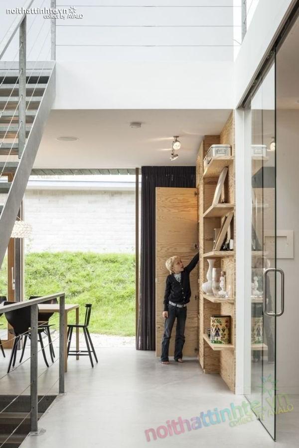 Mẫu nhà đẹp 2 tầng V-Villa đầy hiện đại 08