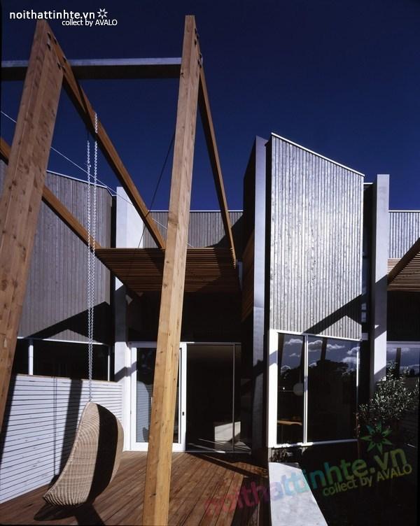 Thiết kế nhà lô phố Elwod - KTS Alcock 04