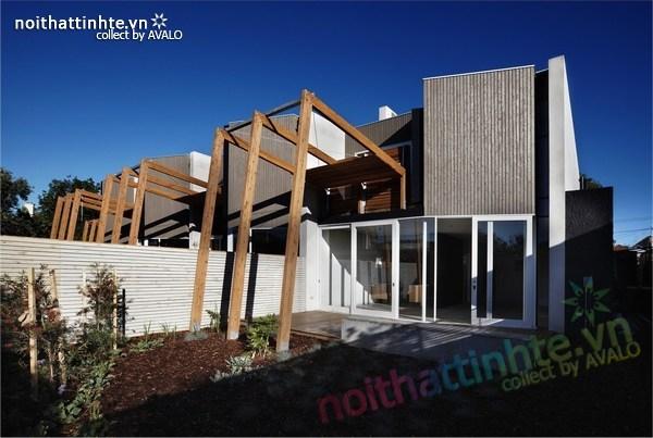 Thiết kế nhà lô phố Elwod - KTS Alcock 05
