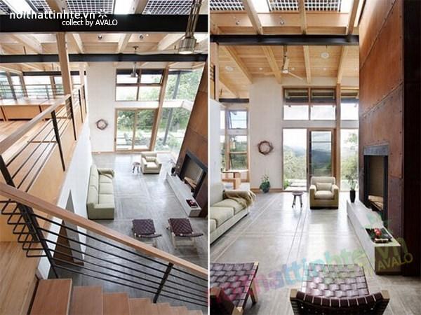 Không gian đương đại cho mẫu nhà đẹp 2 tầng 05