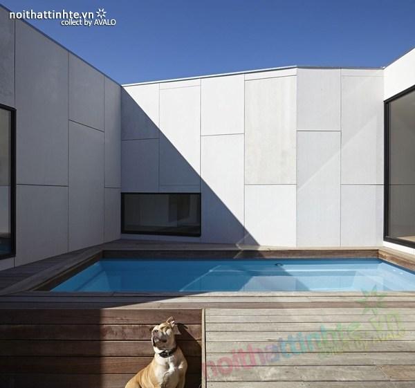 Mẫu nhà đẹp 1 tầng sang trọng và có tính bền vững 09