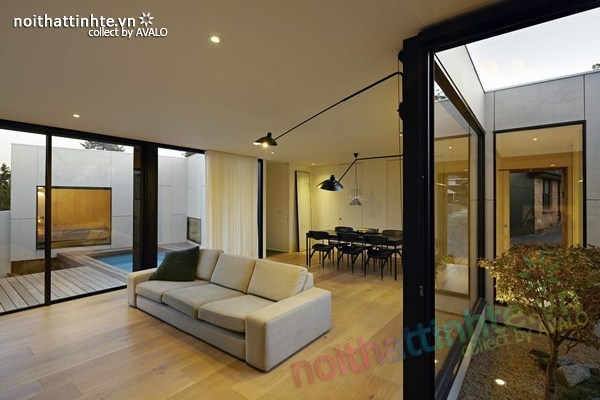 Mẫu nhà đẹp 1 tầng sang trọng và có tính bền vững 10