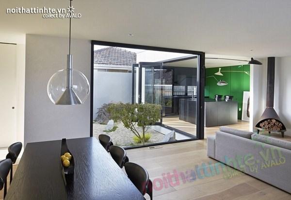 Mẫu nhà đẹp 1 tầng sang trọng và có tính bền vững 03