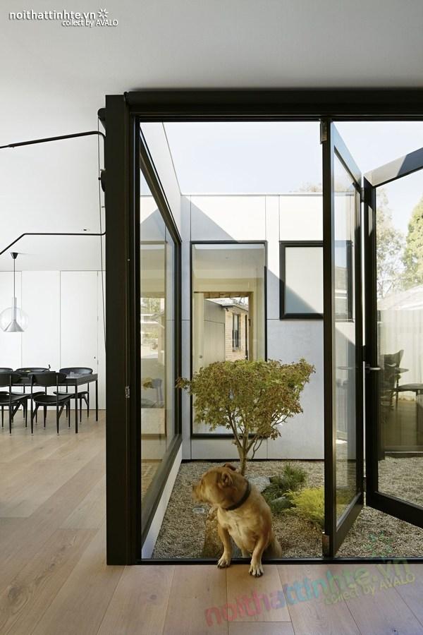 Mẫu nhà đẹp 1 tầng sang trọng và có tính bền vững 06
