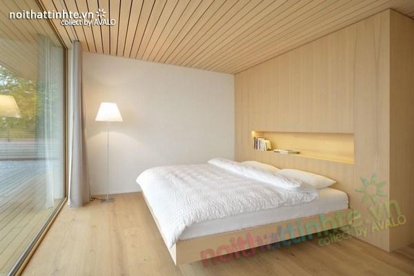 Mẫu nhà đẹp 2 tầng nằm trên sườn dốc ở Thụy Sỹ 03
