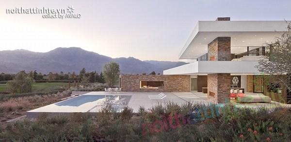 Mẫu nhà đẹp 2 tầng ở La Quinta 06