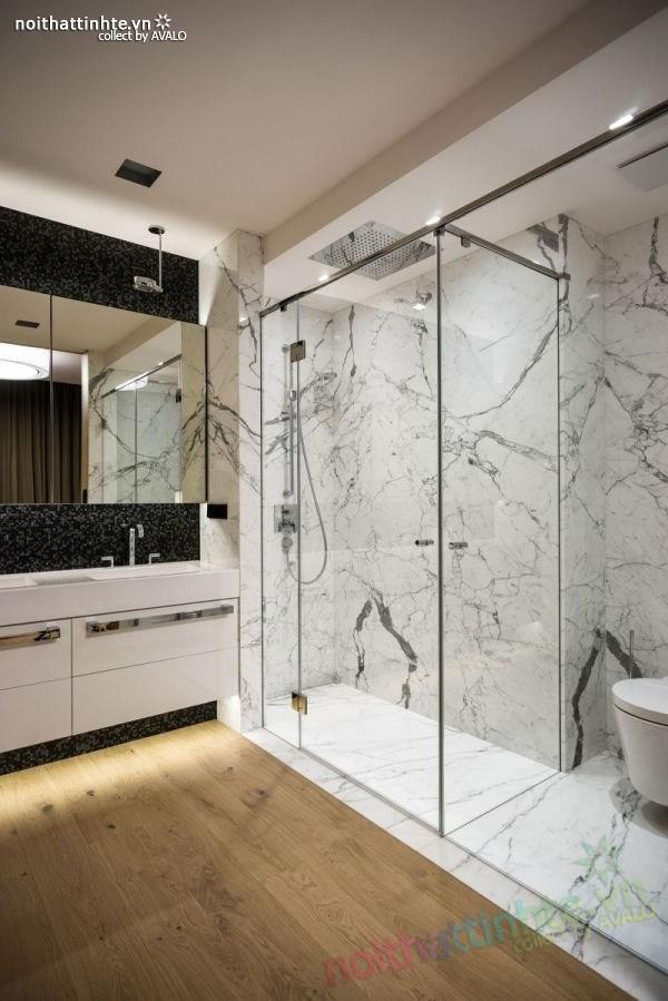 Thiết kế nội thất chung cư sang trọng và hiện đại ở Warsaw 09