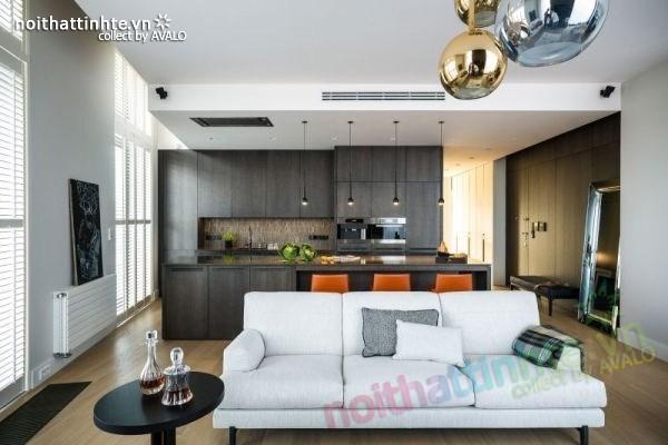 Thiết kế nội thất chung cư sang trọng và hiện đại ở Warsaw 01