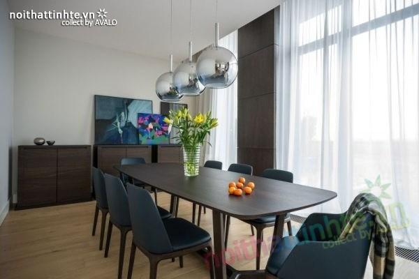 Thiết kế nội thất chung cư sang trọng và hiện đại ở Warsaw 04