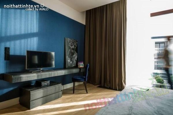 Thiết kế nội thất chung cư sang trọng và hiện đại ở Warsaw 07