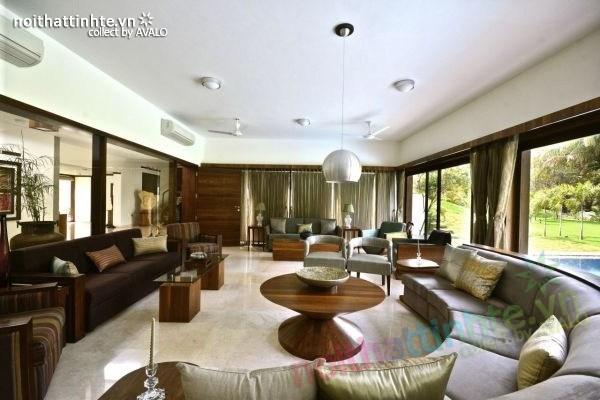 Biệt thự đẹp 1 tầng sang trọng ở Ấn Độ 10