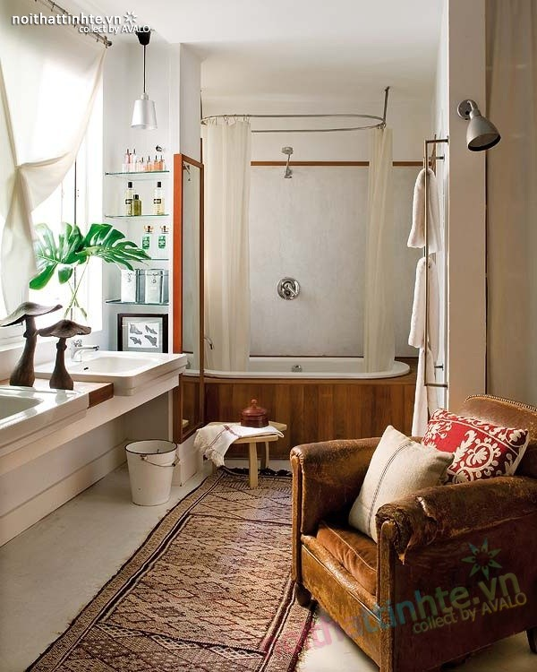 Thiết kế nội thất chung cư bùng nổ với màu sắc ở Madrid 09