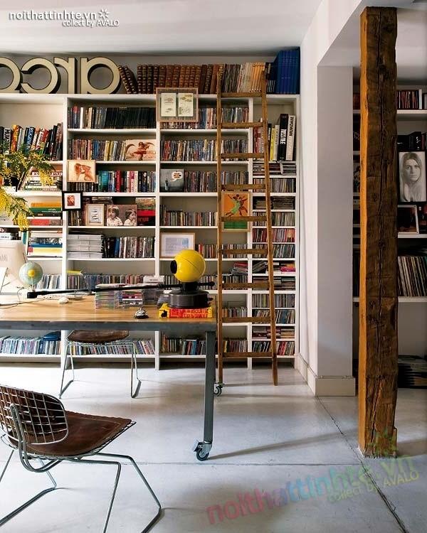 Thiết kế nội thất chung cư bùng nổ với màu sắc ở Madrid 01