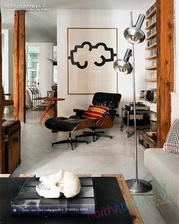 Thiết kế nội thất chung cư bùng nổ với màu sắc ở Madrid 03