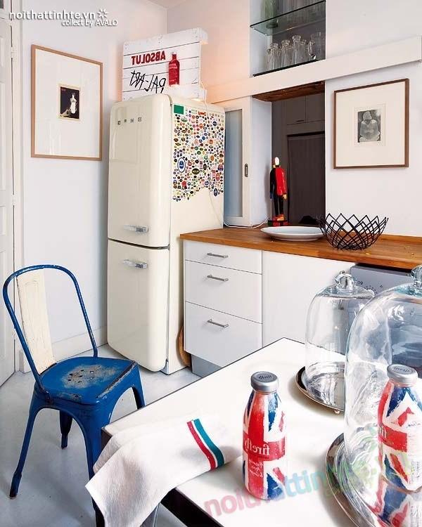 Thiết kế nội thất chung cư bùng nổ với màu sắc ở Madrid 05