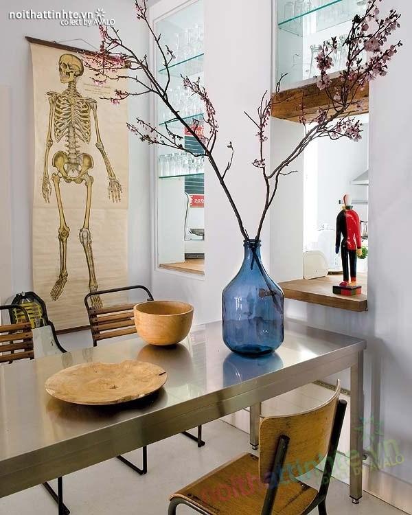Thiết kế nội thất chung cư bùng nổ với màu sắc ở Madrid 06