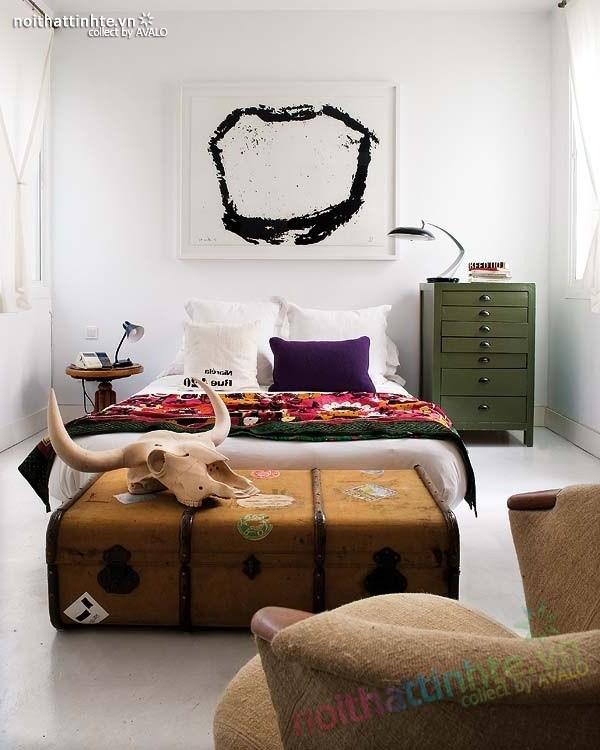 Thiết kế nội thất chung cư bùng nổ với màu sắc ở Madrid 07