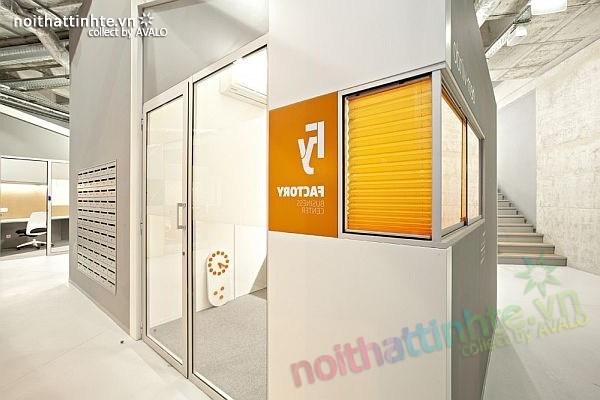 Thiết kế nội thất văn phòng kinh doanh ở Barga 01