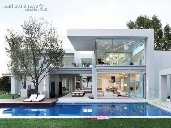 Thiết kế biệt thự đẹp 2 tầng - Nam Phi 01