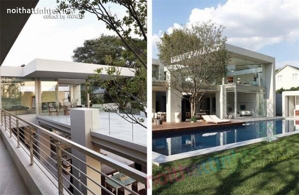 Thiết kế biệt thự đẹp 2 tầng - Nam Phi 02